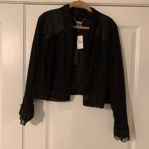 ✅ Discounted- NWT Isabel Toledo Lace Detail Jacket